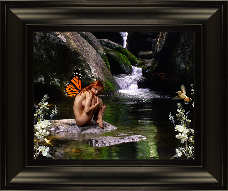 Fairy Realistic Fantasy Art using Photoshop by Ellie of Inspiring Art