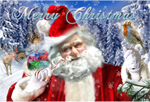 Santa Claus Photoshop Art